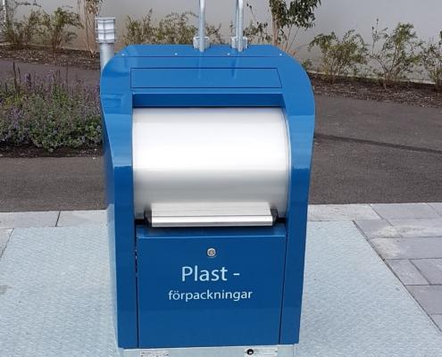 Inkast plastförpackningar